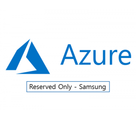Microsoft Azure Fundamental Course  [Reserved Only - Samsung]